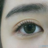 上海华美睫毛种植像天生的