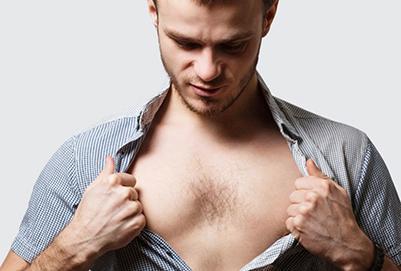 男性没有胸毛怎么办?